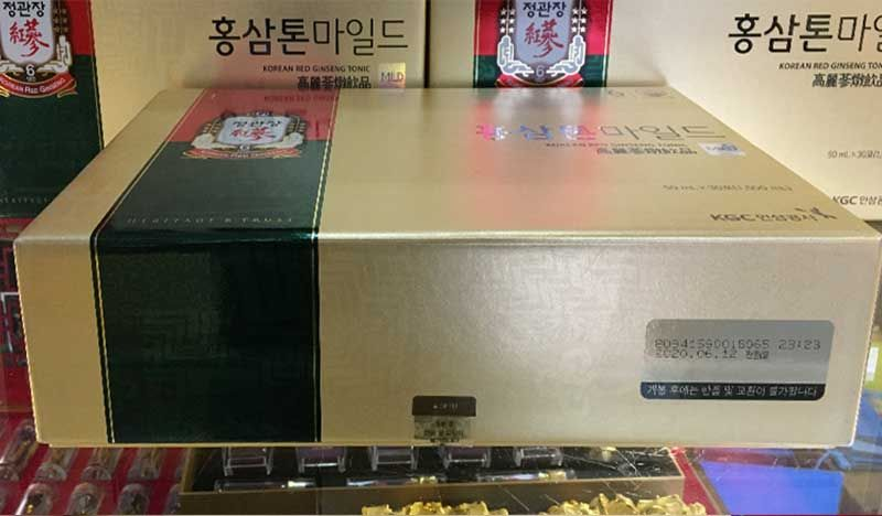 Nước hồng sâm trẻ em cao cấp Chính Phủ KGC (Cheong Kwan Jang) Tonic Mild hộp 30 gói NS635 10