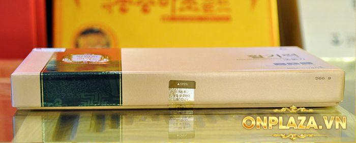 Tinh chất hồng sâm chính phủ KGC Dạng ống - hộp 10 ống NS710 8
