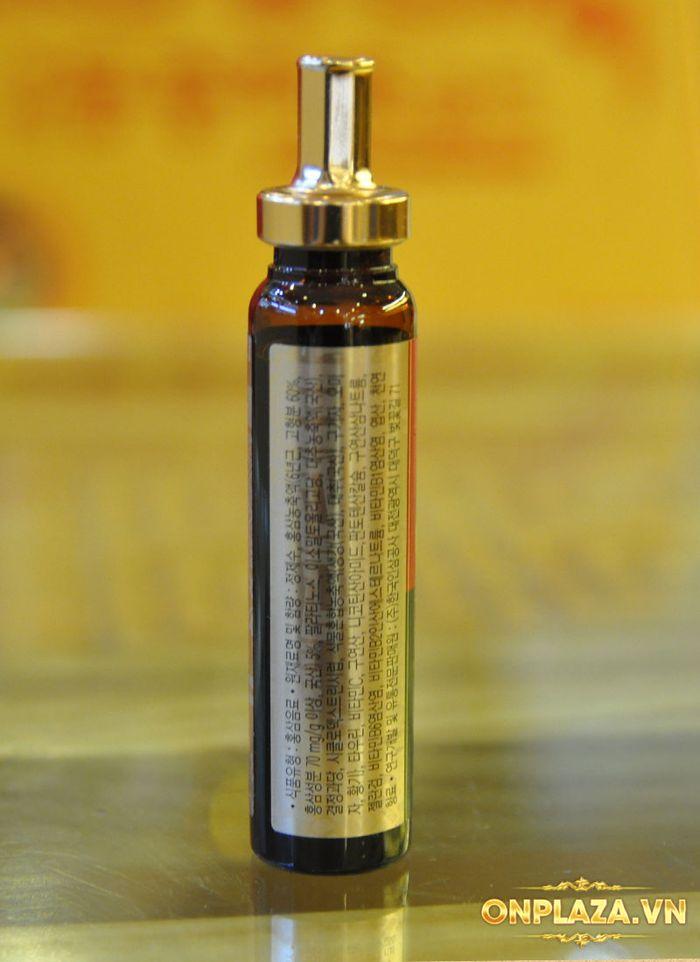 Tinh chất hồng sâm chính phủ KGC Dạng ống - hộp 10 ống NS710 11