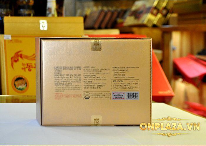 Trà sâm cao cấp chính phủ KGC 100 gói NS743 8