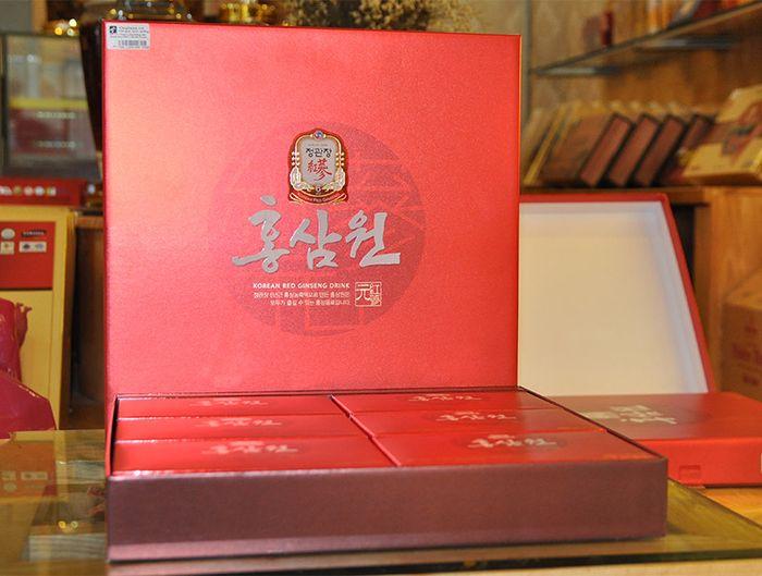 Nước uống hồng sâm chính phủ KGC hộp đỏ 30 gói NS712 8
