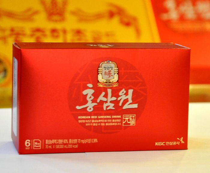 Nước uống hồng sâm chính phủ KGC hộp đỏ 30 gói NS712 11