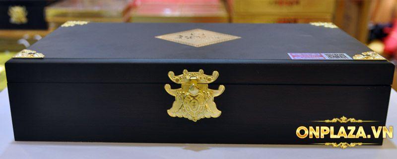 Cao hồng sâm Kanghwa hộp gỗ quà biếu cao cấp loại 4 lọ (250g x 4) NS391 9