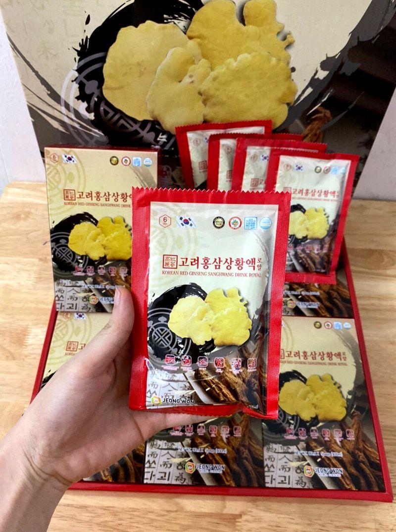 Nước hồng sâm Nấm Thượng Hoàng Hàn Quốc NS827 5