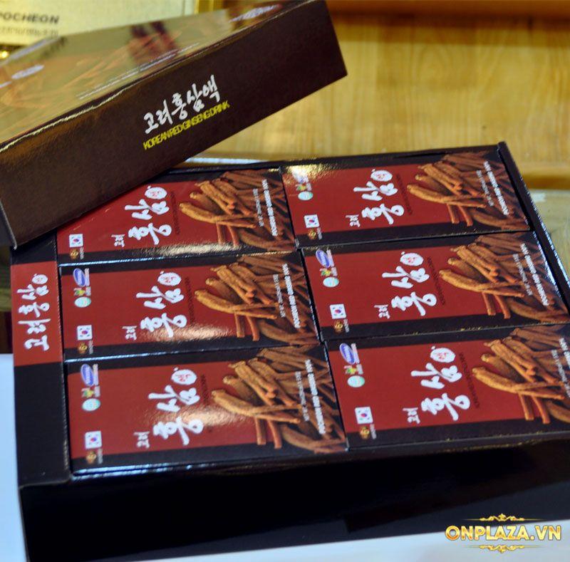 Nước hồng sâm Hàn Quốc Pocheon Korean Drink hộp 30 gói NS838 5