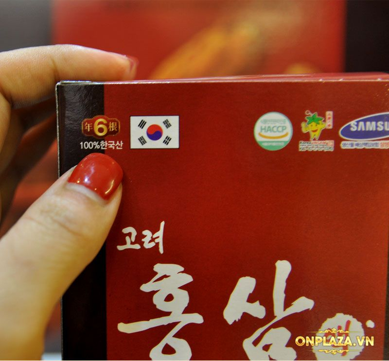 Nước hồng sâm Hàn Quốc Pocheon Korean Drink hộp 30 gói NS838 11